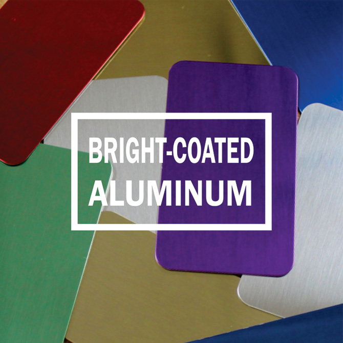Bright-Coated Aluminum