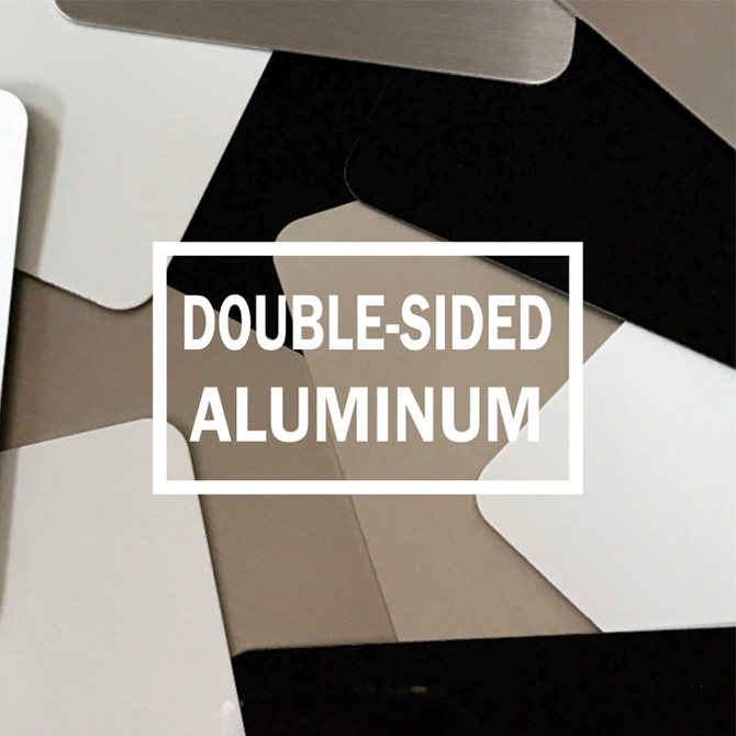 Double-Sided Aluminum