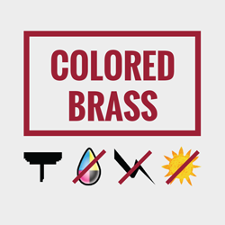 Colored Brass