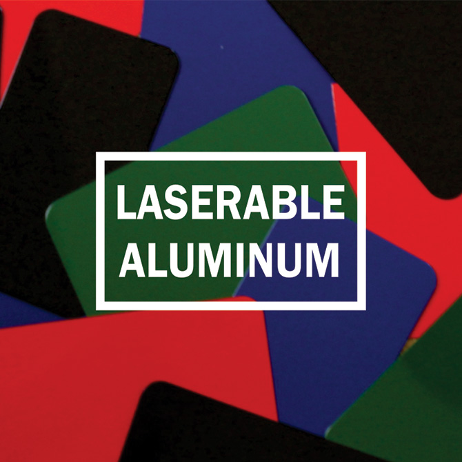 Laserable Aluminum