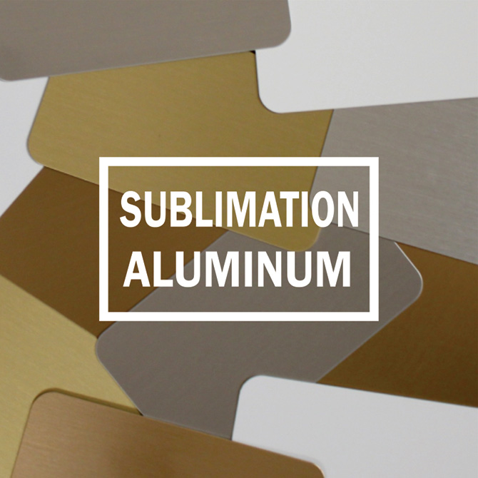 Sublimation Aluminum